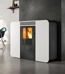 po le stove italy l gance distri tech. Black Bedroom Furniture Sets. Home Design Ideas