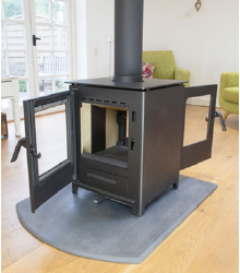 po le mendip stoves loxton double face distri tech. Black Bedroom Furniture Sets. Home Design Ideas